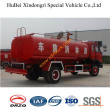 Caminhão do sistema de extinção de incêndios do fogo da água de 10ton Dongfeng Euro3