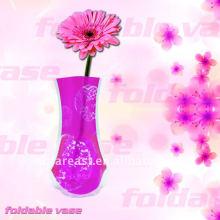 Vase en plastique pliant