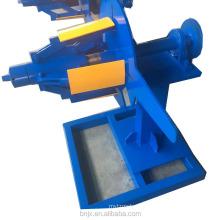 Full-automatic steel coil 10 Ton Hydraulic decoiler / uncoiler