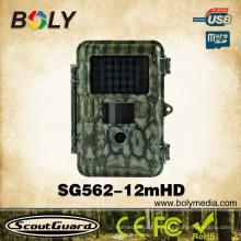 Appareil-photo de chasse de faune d'équipement de vision thermique imperméable de haute technologie avec 12MP 720P HD