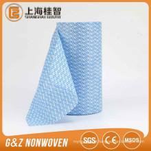 Venda quente de alta qualidade barato spunlace pano de limpeza rolo de tecido não tecido