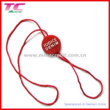 Пользовательские пластиковые бирки Hang для одежды
