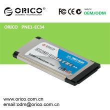 1 puerto eSATA Express Card para portátiles ranura 34mm / 54mm