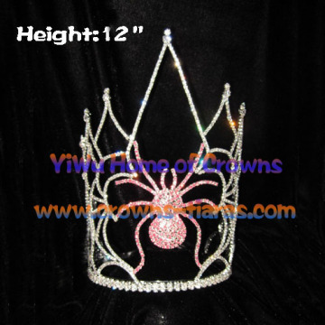 12-Zoll-Halloween Spider Pageant Kronen