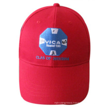 Custom Ball Cap Style Basic Embroidered Red Cap