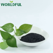 sodium humate shiny flake /humate fertilizer / rice fertilizer