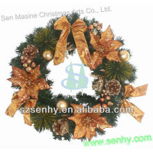 Boeuf de noel de Noël en métal 2016