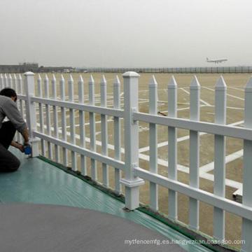 soporte de valla temporal de valla de aluminio horizontal