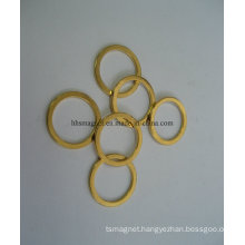 Permanent Neodymium Magnetic Ring with Gold Plating