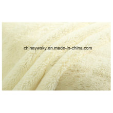 Lush Material Fabrics/Knitted Plush Fabric/PV Fleece Fabrics
