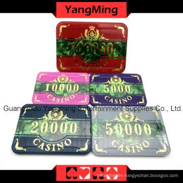 Acrylic Poker Chip Set (760PCS) YM-FOCP001