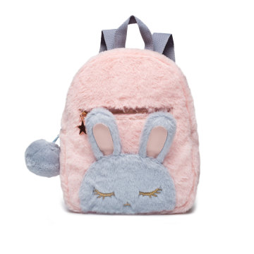 RABBIT PLUSH GIRLS BACKPACK-0