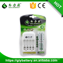 GEILIENERGY GLE-C850 Battery Charge AA AAA NI-CD NI-MH Rechargeable Battery Usb charger