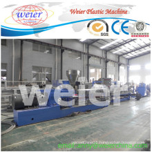 Shj-65 Parallel Twin Screw Extruder Water Cooling Strand Granulator