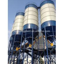 Preço de silo da loja de cimento de 100 toneladas baixo com projeto da fundação tipo da parte