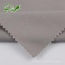 Tissu en toile sergé tissé pour pantalon