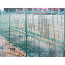 Cerca de malha de arame soldada de ovelha revestida de PVC para quintal