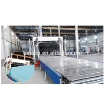 Horizontal automatic continuous sponge foaming machine