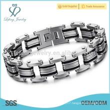 Hot sale mens stainless steel bracelets,link bracelets,costume jewelry