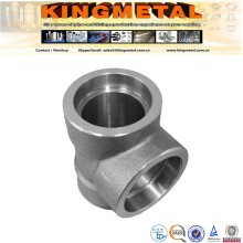 """Mss Sp-89 4""""Stainless Steel Forged Pipe Fitting Tee"""