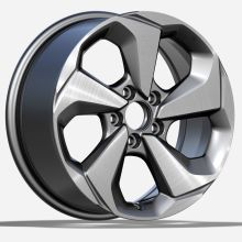 Пользовательский Honda Civic Replica Rim 17x7.5 Silver