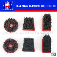 Pincel abrasivo de diamante de alto desempenho (HZDB006)