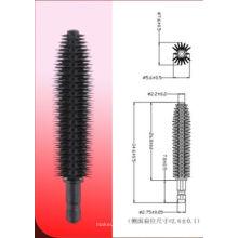 Mini cepillo delgado del mascara del silicón del tipo