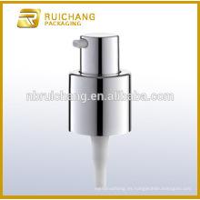 Bomba de la loción de la capa ULTRAVIOLETA plástica / bomba de la crema de 20m m / dispensador de la bomba de la capa del UV