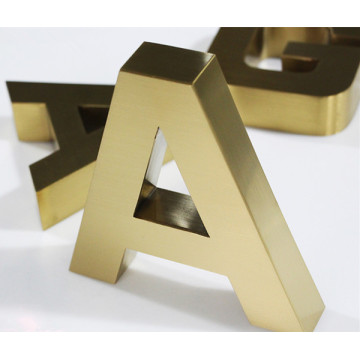 Advertising Letters Metal Letters