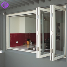 Lingyin Construction Materials Ltd moden tingkap grill designAluminum Folding Window
