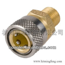 Best fittings stainless steel NPT1/8M through hydraulic Quick Coupler