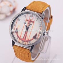 Reloj de ancla de estilo de banda de reloj de tela