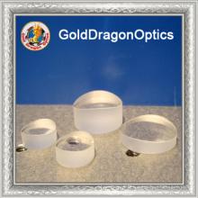 Conception personnalisée cylindrique plano-concave ronde en silice fondue