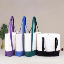 Las bolsas de asas hechas a mano modificadas para requisitos particulares de la botella de vino de la fábrica para hacer compras