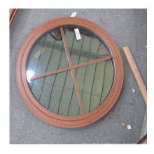 color customized  double glazed window grill design round