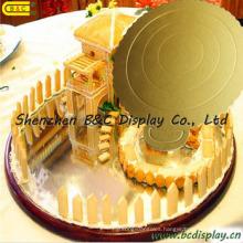 6 Inch Round Corrugated Paper Cake Tray/Cake Boards/FDA for Birthday Cakes (B&C-K052)