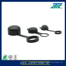 Rubber dust proof cap for lock