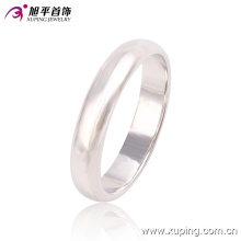 Fashion Xuping Simple Rhodium No Stone Jewelry Finger Ring -10762