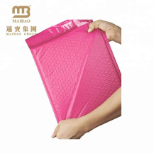 Alibaba Hot Sale Style Light Pink Customized Padded Envelope Postage Bubble Bags