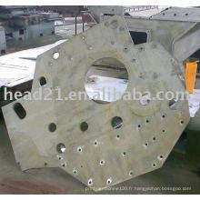 Machine de découpage à jet d'eau de plaque d'acier inoxydable de CNC avec le certificat de CE
