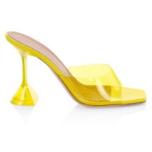 Hot Sale Korean High-heeled Crystal and Transparent Women's Sandals