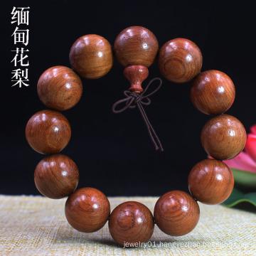 Ethinc Prayer Yoga Jewelry  for Women Men 10mm Natural Wood Beads Bracelets