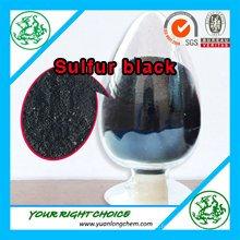 Precio competitivo Sulphur Colorantes Azufre Negro para Algodón / Textil Slufur Negro Br 200%