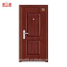 Les conceptions de porte d'entrée ont évalué la porte évaluée par feu d'hôtel en acier d'acier