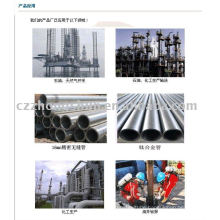 alloy steel pipe ASTM A106 API 5L DIN SEAMLESS WATER FLUID GAS