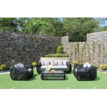 Eagle Collection - Sofá de Rattan de polietileno increíble para muebles de jardín al aire libre