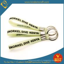 2015 Billets de vente de marchandises en vrac bon marché avec bracelet en silicone (KD1825).