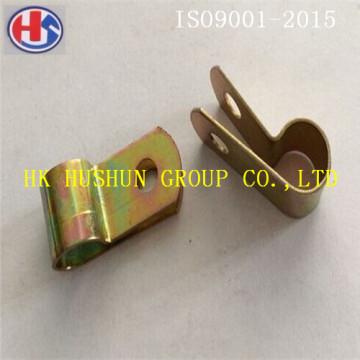 Fornecimento de clipe de tubo único não padrão R usado para eletrodoméstico elétrico (HS-PC-002)