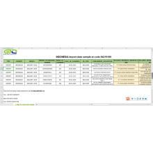 Indonésie Importation de données au code 842191 pièces de machine centrifuge