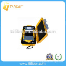 Yellow color Fiber Ring OTDR Launch Cable box
